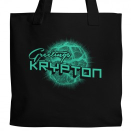 Superman Krypton Tote