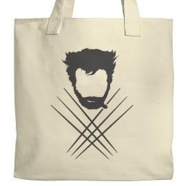 Wolverine Silhouette Tote