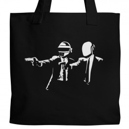 Daft Punk Pulp Fiction Tote