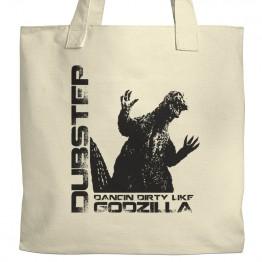 Dubstep Godzilla Tote