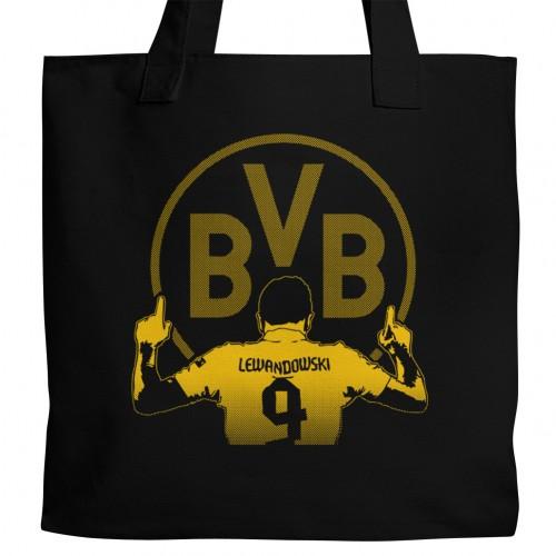 Dortmund Lewandowski Tote