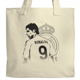 Ronaldo Real Madrid Tote