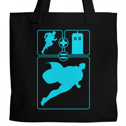 Dr. Who Superman Tote
