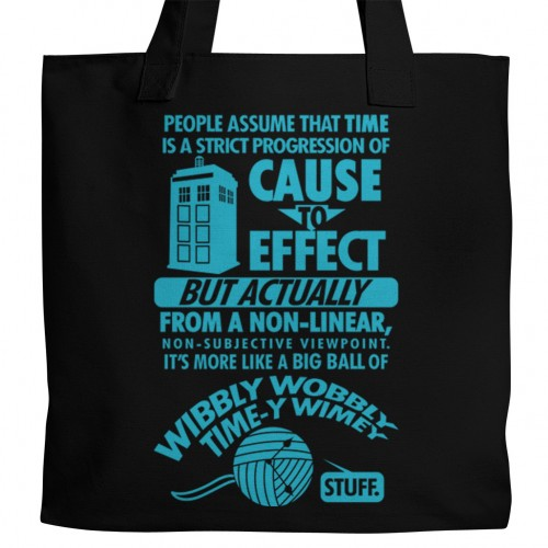Doctor Who Time Tote