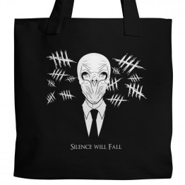 Dr. Who Silence Will Fall Tote