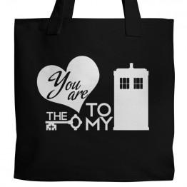 Key to my TARDIS Tote