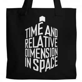 Doctor Who TARDIS Tote
