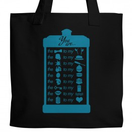 Dr. Who The Seer Tote