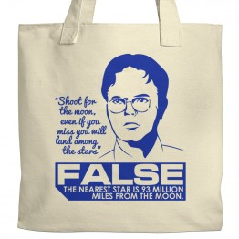 The Office Schrute Facts Tote