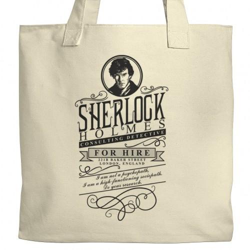 Sherlock Holmes Tote
