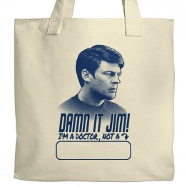 Star Trek Damn It Jim Tote