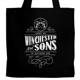 Supernatural Carry On Tote