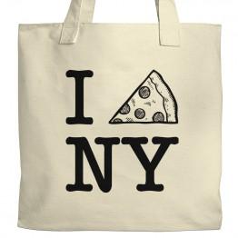 TMNT I Pizza NY Tote
