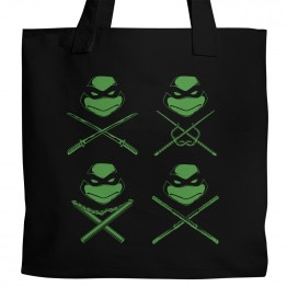 TMNT All 4 Tote