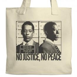 No Justice No Peace Tote