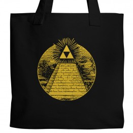 Zelda Triforce Pyramid Tote