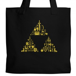 Zelda Triforce Items Tote