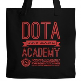 DotA 2 Try Hard Academy Tote