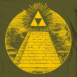 "Zelda Triforce ""Pyramid"""