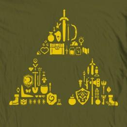 """Zelda Triforce """"Items"""""""